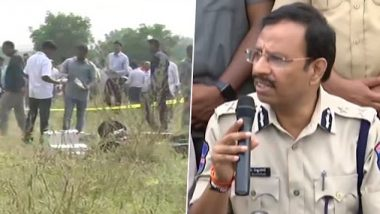 Hyderabad Encounter: Cyberabad Police Chief VC Sajjanar Says Rape Accused Attacked Cops With Sticks and Guns, Were Shot Down in Self Defence