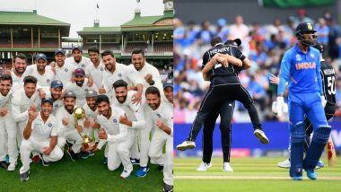 Year Ender 2019: Test Series Win in Australia, World Cup Semis Exit; Indian Cricket Team's Review As We Move Into 2020