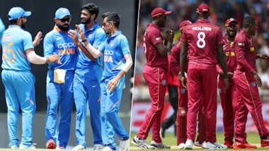 India vs West Indies Head-to-Head Record: Ahead of the T20I Series 2019, Here Are Match Results of Last Five IND vs WI T20I Encounters