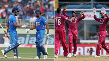 India vs West Indies Head-to-Head Record: Ahead of 3rd ODI 2019, Here Are Match Results of Last 5 IND vs WI Encounters