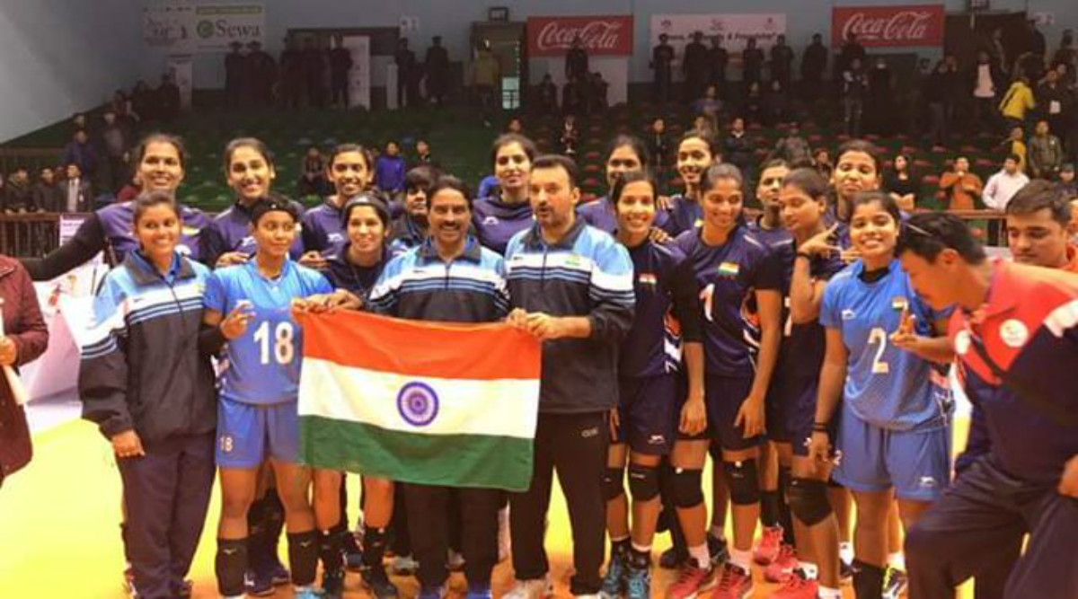 South Asian Games 2019: Indian Women's Volleyball Team Wins Gold by Defeating Nepal in SAG