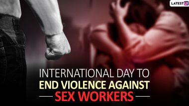 International Day to End Violence Against Sex Workers 2019: History And Significance of the Day to Protect The Rights of Sex Workers