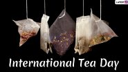 On International Tea Day 2019, From Panda Dung to Garlic Tea, Know Weirdest Types of Teas That People Drink Around The World