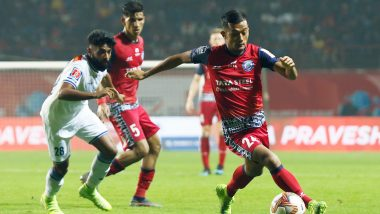 ISL 2019–20 JFC 1–1 CFC Result: Isaac Vanmalsawma's Controversial Goal Helps Jamshedpur FC Snatch a Point Against Chennaiyin FC