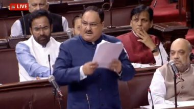 Citizenship Amendment Act 2019: JP Nadda Tells BJP MPs to Reach Out to Hindu, Sikh, Buddhist, Jain and Christian Refugees