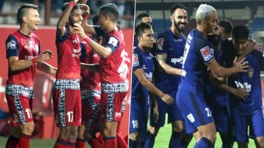 JFC vs CFC Head-to-Head Record: Ahead of ISL 2019 Clash, Here Are Match Results of Jamshedpur FC vs Chennaiyin FC Encounters in Indian Super League