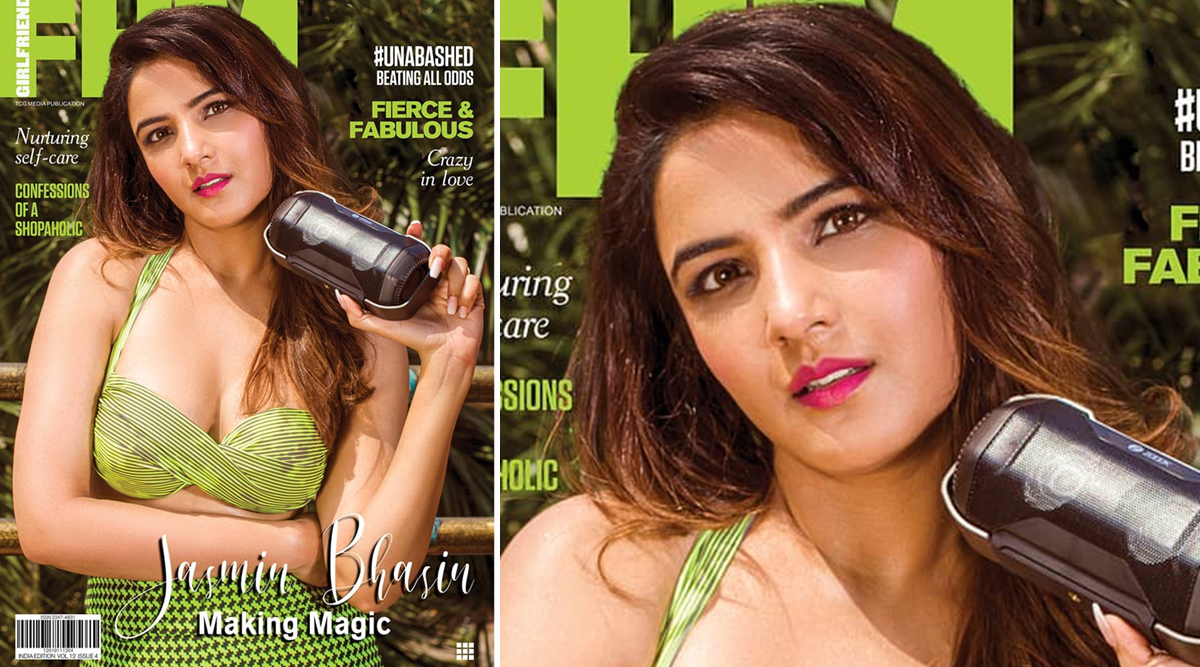 Jasmin Bhasin Oozes Sex Appeal In FHM India's November 2019 Girlfriend Issue (View Hot Pics)