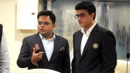 BCCI President Sourav Ganguly, Secretary Jay Shah Could Extend Role Despite Term Expiry With Supreme Court Likely to Defer August 17 Hearing