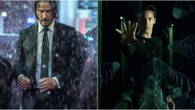 John Wick 4 and Matrix 4 to Release on May 21, 2021: Netizens Thrilled About the Clash, Call It 'Keanu Reeves Day'