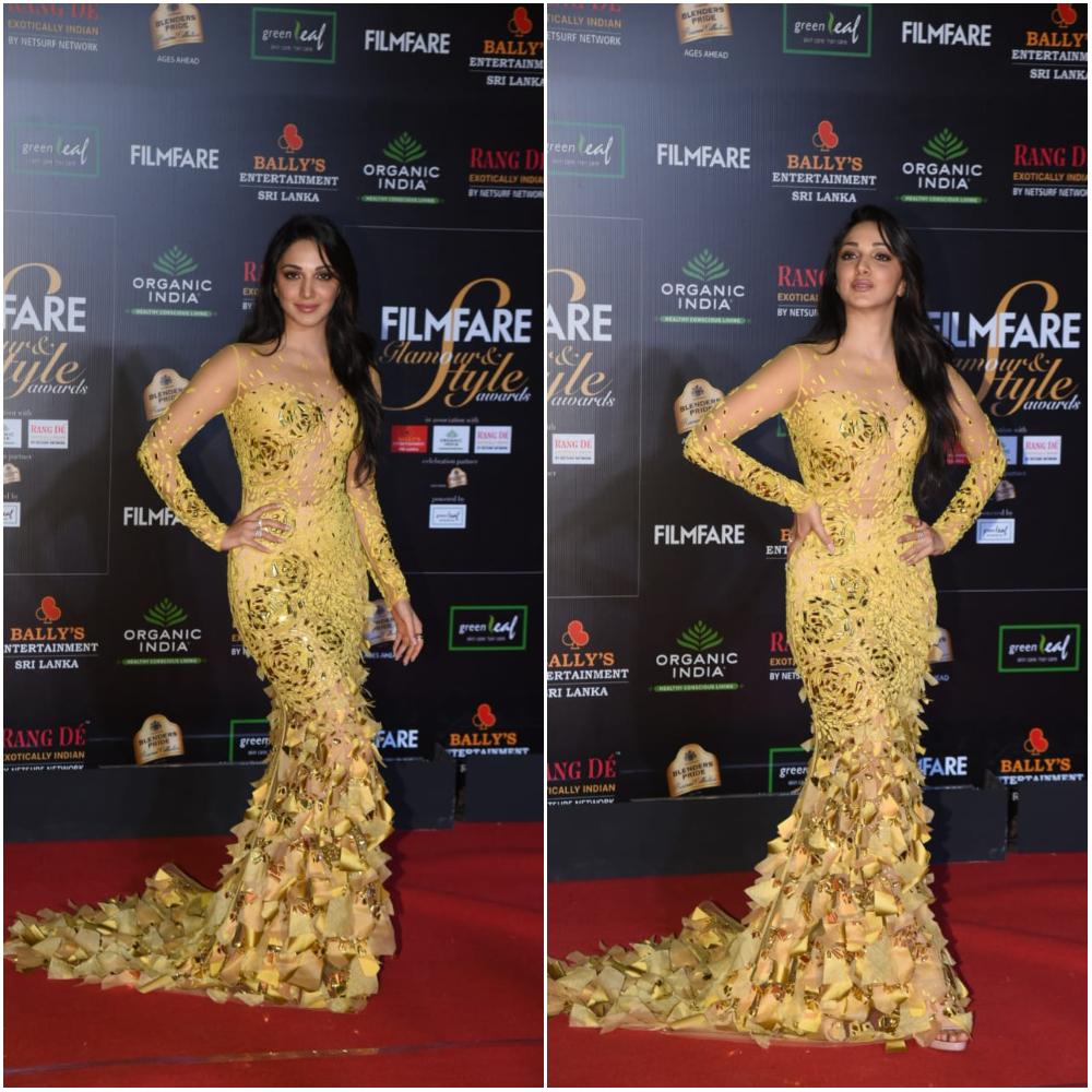 Kiara Advani at Filmfare Glamour and Style Awards 2019