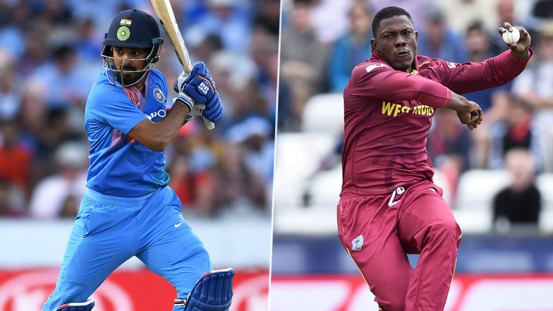 India vs West Indies, 1st T20I 2019: KL Rahul vs Sheldon Cottrell & Other Exciting Mini Battles to Watch Out for in Hyderabad