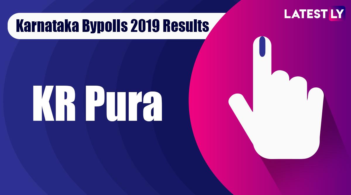 KR Pura Bypoll 2019 Result For Karnataka Assembly Live: BA Basavaraja of BJP Leading
