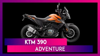 KTM 390 Adventure Motorcycle Showcased At India Bike Week 2019