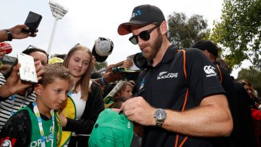 Kane Williamson in a Heartwarming Gesture Thanks New Zealand Supporters at MCG Despite Boxing Day Test Defeat to Australia, Watch Video