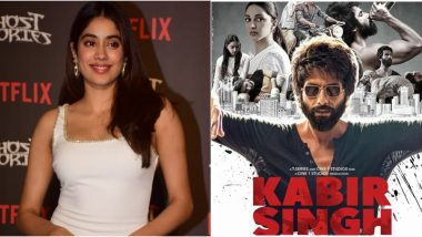 Janhvi Kapoor Responds to Kabir Singh Controversy, Says It's Art and It is Not Supposed to Cater to Societal Norms