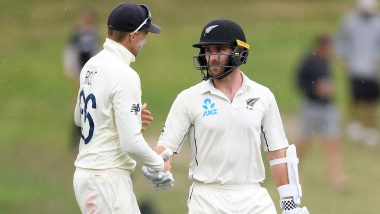 New Zealand vs England 2nd Test 2019 Match Ends in a Draw After Rains Affect Play on Day 5, Kiwis Win Series 1-0