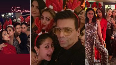 Kareena Kapoor Khan Christmas 2019 Bash: Karan Johar, Alia Bhatt, Malaika Arora had a Blast, Check out Inside Pictures