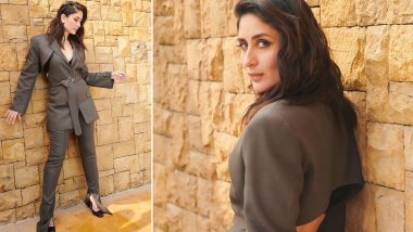 Hot Damn! Kareena Kapoor Khan in Peter Do Pantsuit Is All Kinds of Sophisticated, Glamorous and Good Newwz! (View Pics)