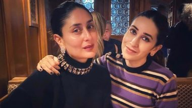 Kareena Kapoor Khan and Karisma Kapoor's Holiday Dinner Straight From Switzerland Is Pure Love (View Pic)