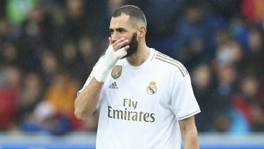 Karim Benzema First Accuses Vinicius Junior of 'Playing Against Real Madrid' During UCL Clash 2020-21 vs Borussia Monchengladbach, Frenchman Later Reportedly Apologies to 20-Year-Old (Watch Video)