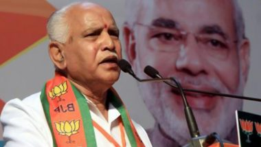 COVID-19 Vaccination in India: Karnataka CM BS Yediyurappa, Health Minister K Sudhakar Appeal to People Above 45 Years to Get Vaccinated
