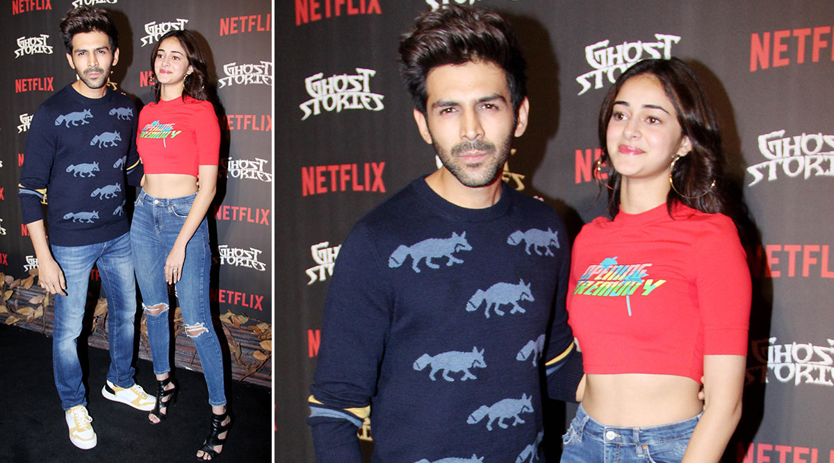 Kartik Aaryan Dappers It Up in a Paul Smith Jumper With Ananya Panday in Tow!
