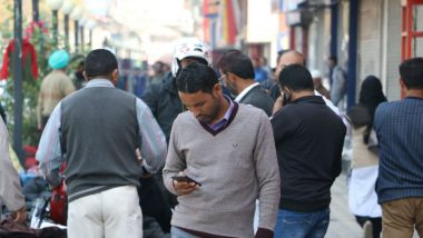 Jammu And Kashmir: SMS, Voice Services Restored For Pre-Paid Mobile SIM Card Users Months After Article 370 Repeal