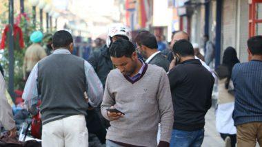 Ban on 4G Internet in Jammu & Kashmir Extended Till November 12, Ganderbal and Udhampur Exempted