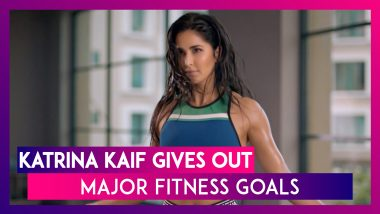 Katrina Kaif Gives Out Major Fitness Goals As She Shares A Sneak Peek Of Her Workout Session