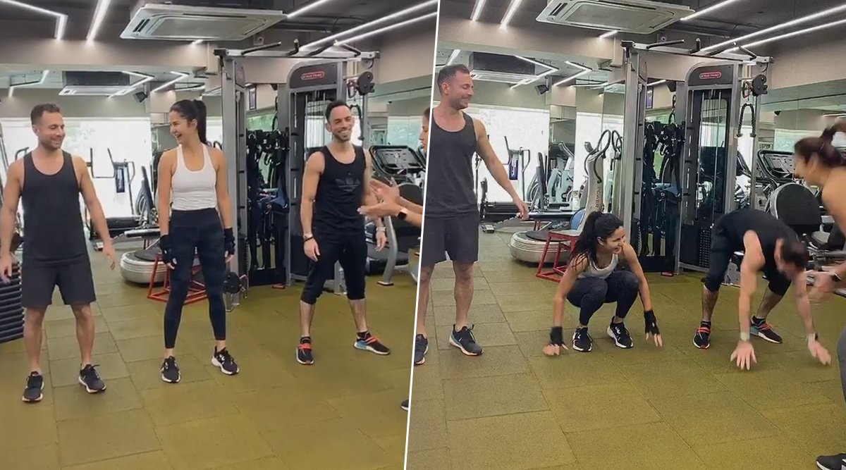 Katrina Kaif Does Intense Burpee Exercises, Shares Video on Her Instagram And It Is Giving Major Fitness Goals!