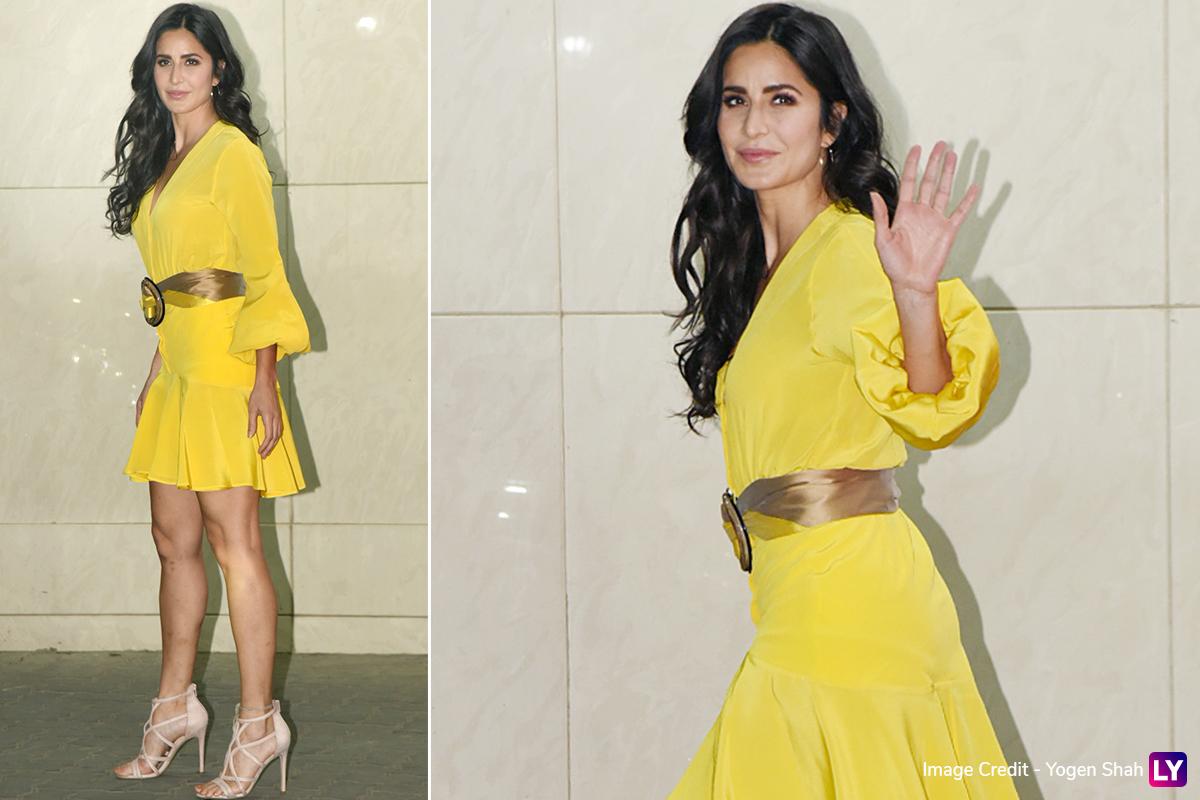 Katrina Kaif in Silvia Tcherassi for Salman Khan's birthday bash