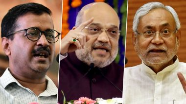 Elections in 2020: Modi-Shah Duo to Battle Kejriwal's AAP in Delhi, Face Rocky Road in Bihar as Ally JD(U) Continues to Sulk