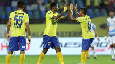 ISL 2019–20 KBFC 2–2 JFC Result: Messi Brace Helps Kerala Blasters Mount Fight Back From Two Goals Down Against Jamshedpur FC