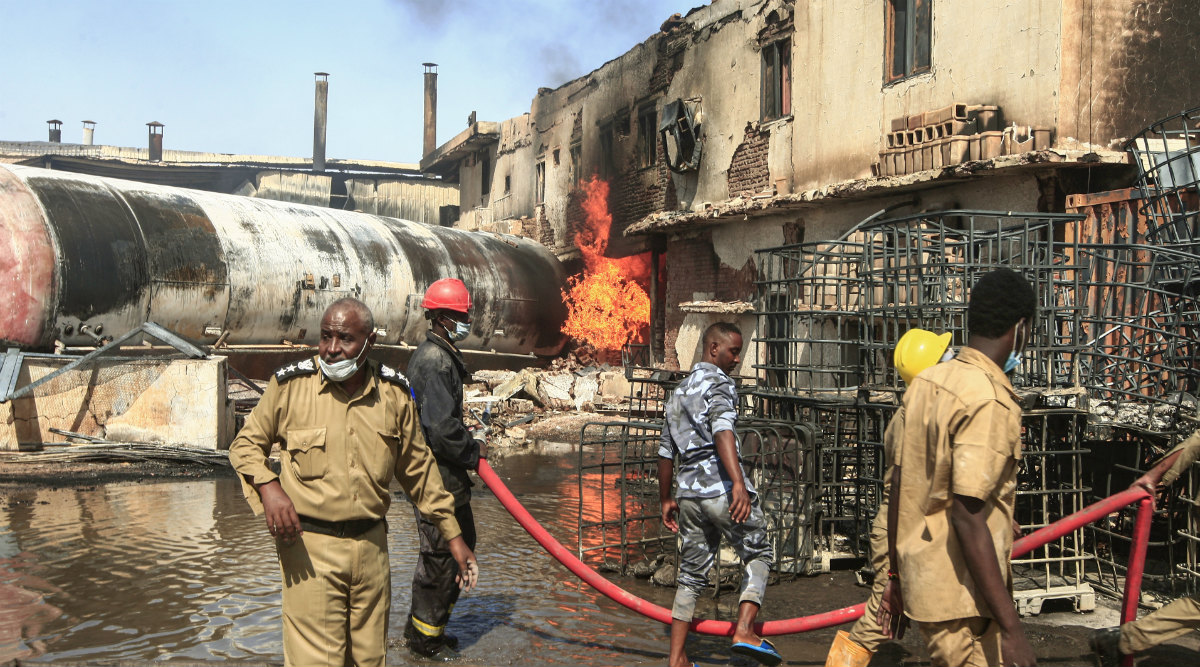 Sudan Blast: 18 Indians Killed in LPG Tanker Explosion in Khartoum