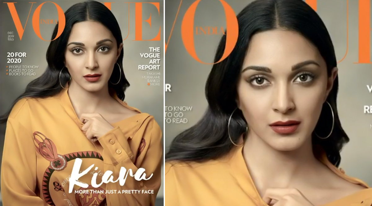 Kiara Advani's Debut on the Cover of Vogue India December Issue Is as Bland as Her Role In Machine! (View Pics)