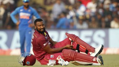 India vs West Indies 3rd ODI 2019: Kieron Pollard, Nicholas Pooran Late Flourish Take WIndies to 315/5 at Barabati Stadium