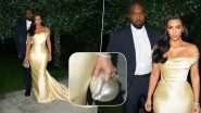 Kim Kardashian's Unusual Shell-Shaped Purse At Sean Combs' Party Gets Trolled With Funny Memes!