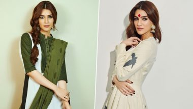 Stop and Stare Because Kriti Sanon Is Taking Ethnic Chicness to a Whole New Level for Panipat Promotions!