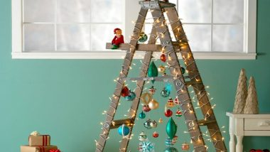 Christmas 2019 Decoration Ideas: From Ladder Tree to Tripod Tree, 6 Unconventional and Stunning Xmas Trees You Have Not Seen Before!