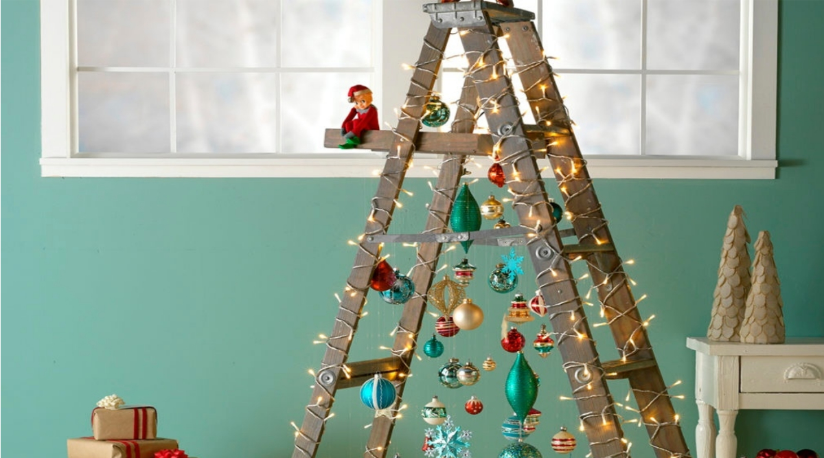 Christmas 2019 Decoration Ideas From Ladder Tree to Tripod
