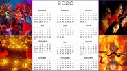 Lala Ramswaroop Calendar 2020 for Free PDF Download: Know List of Hindu Festivals, Dates of Holidays and Fasts (Vrat) in New Year Online