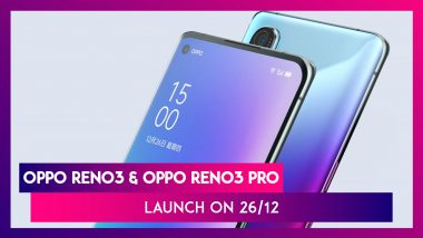 Oppo Reno3 & Oppo Reno3 Pro Smartphones Confirmed To Launch On December 26; Expected Prices, Features, Variants & Specs