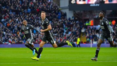 Premier League 2019–20 Result: In-Form Jamie Vardy Fires Leicester City to a 4–1 Win Over Aston Villa