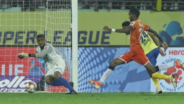 ISL 2019–20 KBFC 2-2 FCG Result: Lenny Rodrigues Stoppage-Time Goal Helps 10-Man FC Goa Steal Point off Kerala Blasters