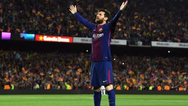 Barcelona Revisits Lionel Messi's Stunning Goal When Catalan Giants Destroyed Celta Vigo 6-1 (Watch Video)