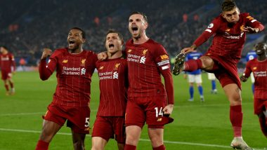 Premier League 2019-20: Liverpool Thrash Leicester 4-0 to Stretch Lead as Tottenham, Manchester United Close on Chelsea