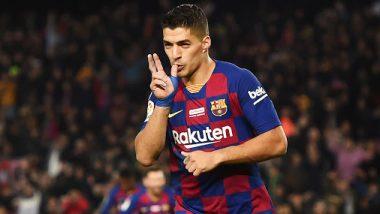Luis Suarez Scores Sumptuous Backheel Goal During FC Barcelona vs RCD Mallorca Clash in La Liga 2019–20 (Watch Video)