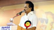 Tamil Nadu Govt to Continue With Rs 4000 Dole Along With 15 kg of Rice to All Ration Cardholders, Says CM MK Stalin