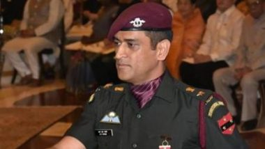 MS Dhoni to Venture Into Television Production with TV Show About Decorated Army Officers