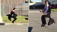 TikTok Video of Magician Zach King Flying On a Broomstick Like Harry Potter is Making Internet Go Crazy!